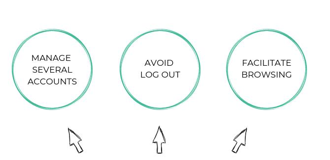 why using a google chrome multi login strategy
