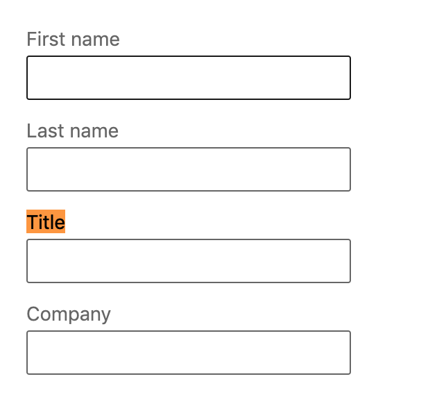 "Use ""title"" to qualify your prospect"