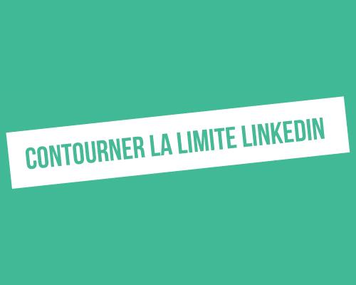 Comment accéder à plus de 1000 résultats dans une recherche LinkedIn