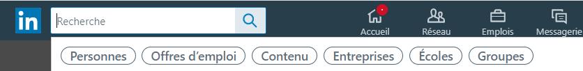 mot clé recherche linkedin
