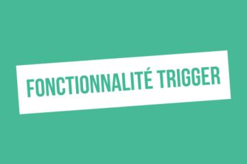 Qu'est-ce que la fonctionnalité Trigger sur ProspectIn ?