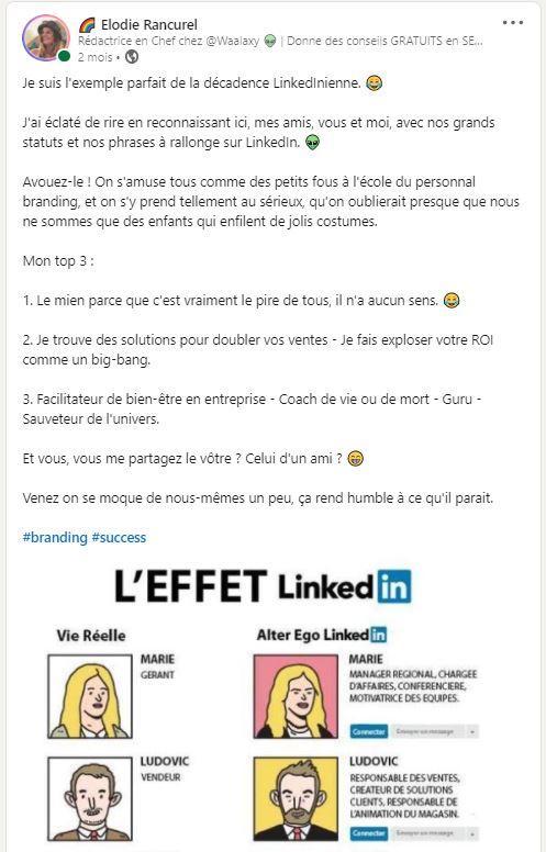 Faire un post sur LinkedIn viral 2