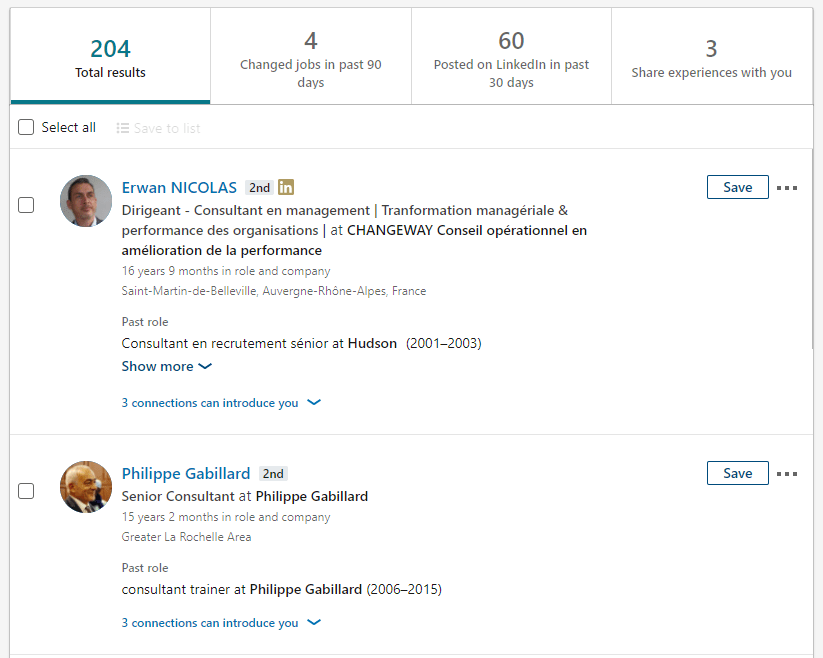linkedin targeting growth hack prospectin