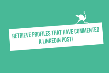 retrieve profiles linkedin