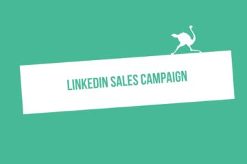 linkedIn sales campaign