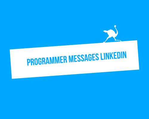 programmer messages linkedin