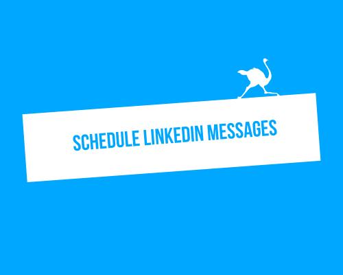 schedule messages
