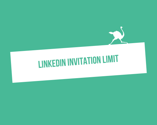 You have reached your weekly LinkedIn invitation limit: the solution