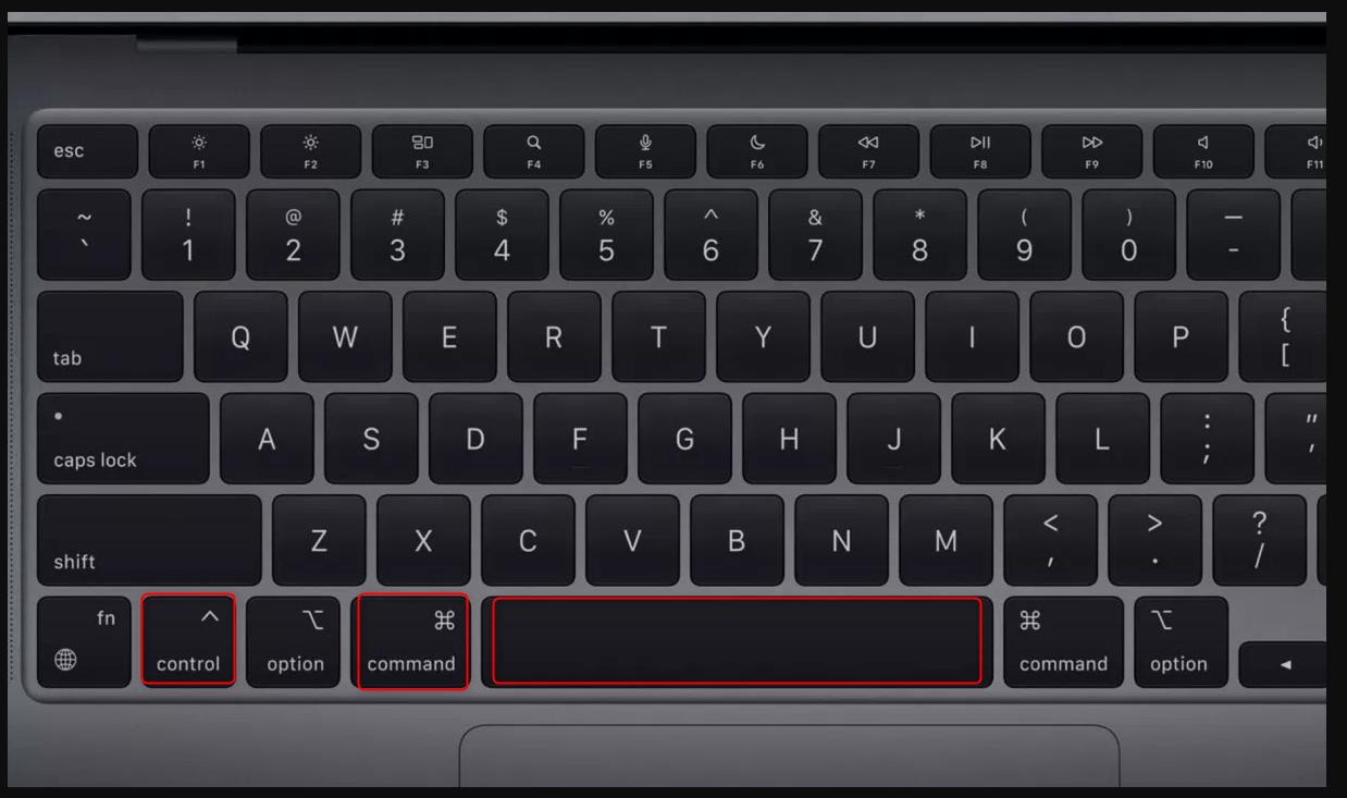 raccourci clavier emoji mac
