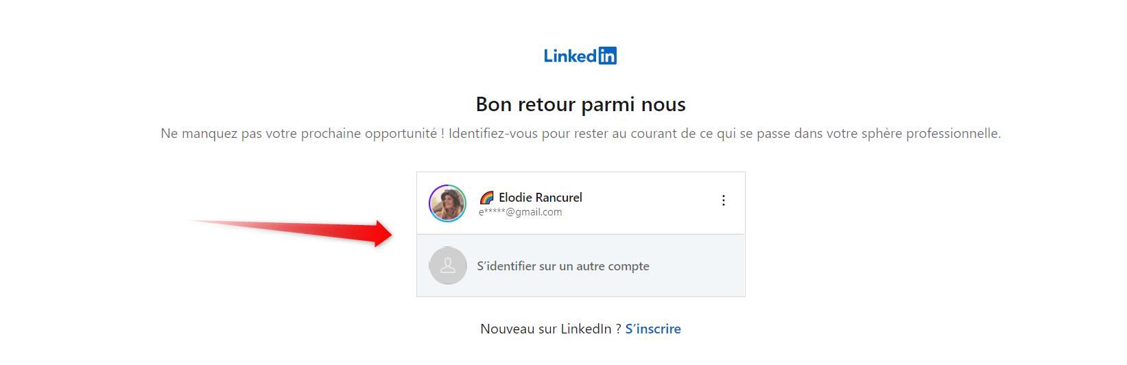 login linkedin email adresse