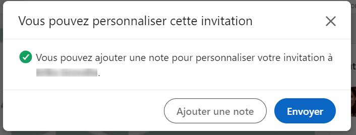 note invitation linkedin