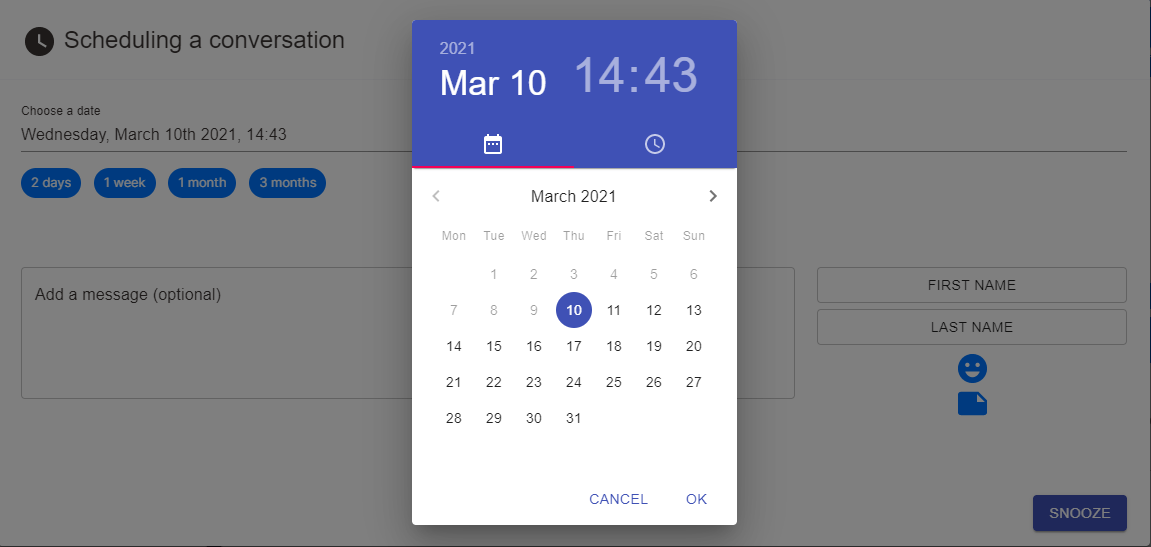 schedule linkedin messages