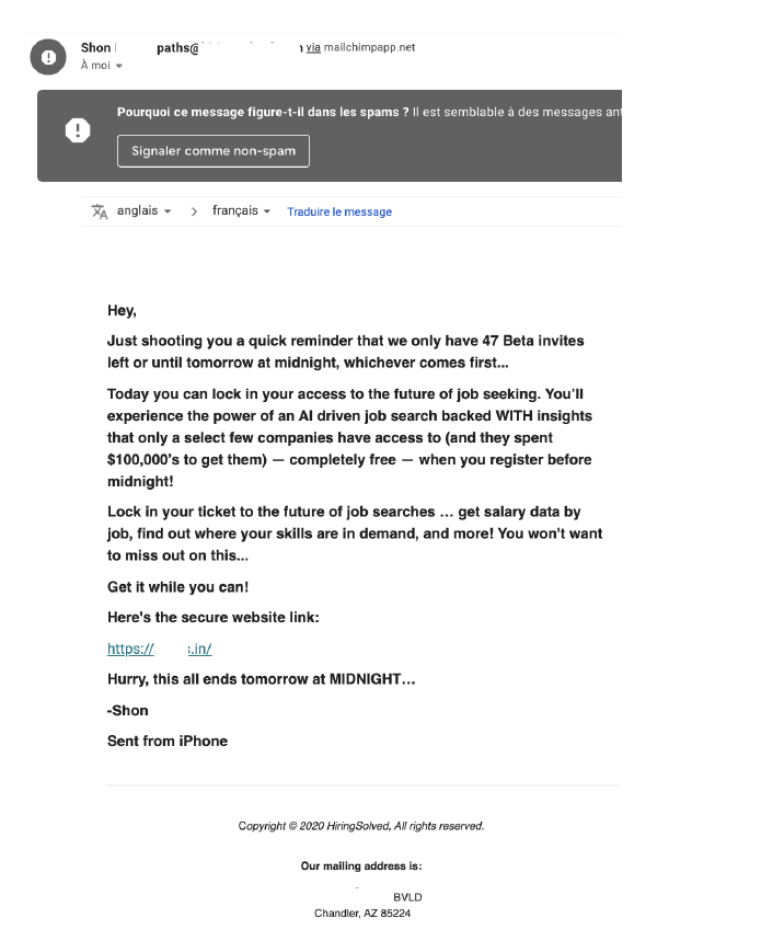 exemple erreurs cold emailing