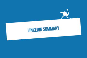 Top 5 best LinkedIn summaries examples for effective prospecting