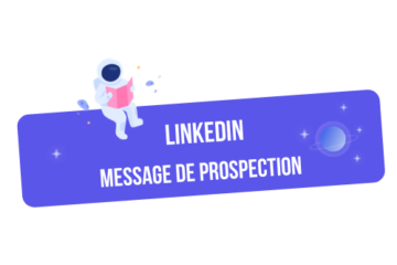 linkedin message prospection