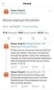 burger king communication