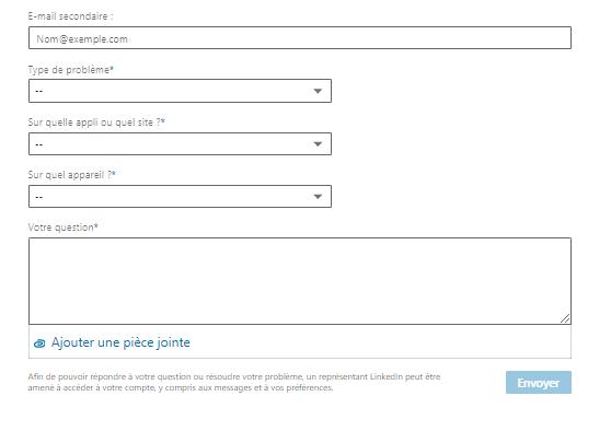 linkedin message help